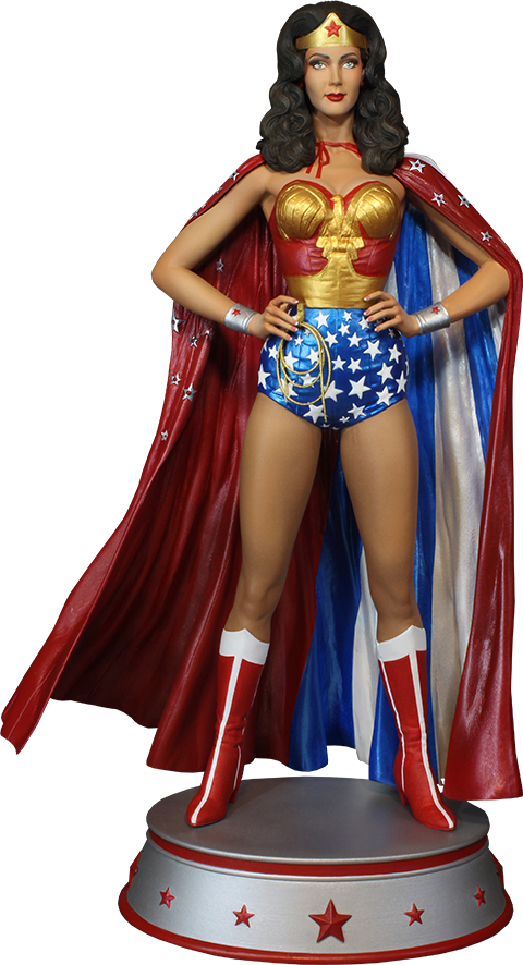 Tweeterhead Wonder Woman Cape Variant Maquette