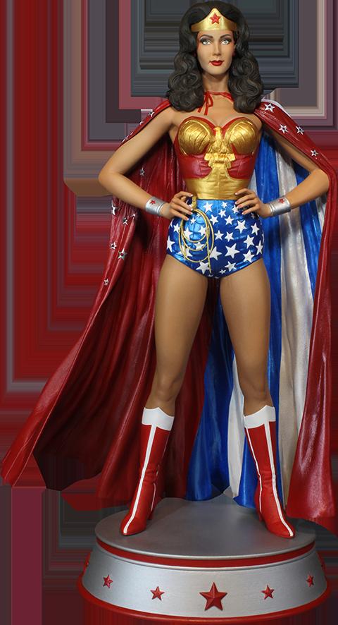 Tweeterhead Wonder Woman Cape Variant Maquette