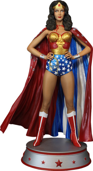 Wonder Woman Cape Variant Maquette
