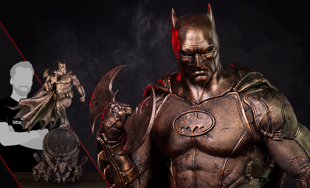 Gallery Feature Image of Batman Bronze Edition Statue - Click to open image gallery