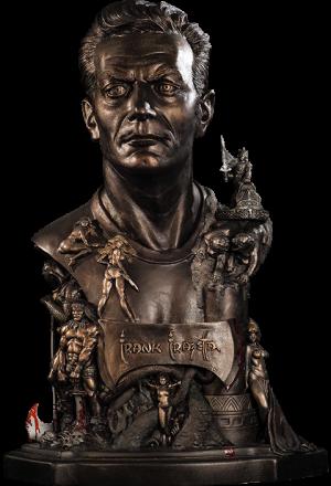Frank Frazetta Tribute Polystone Statue