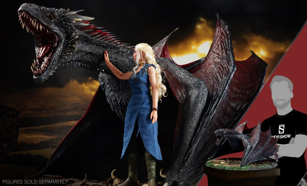 Gallery Feature Image of Drogon Sixth Scale Figure - Click to open image gallery