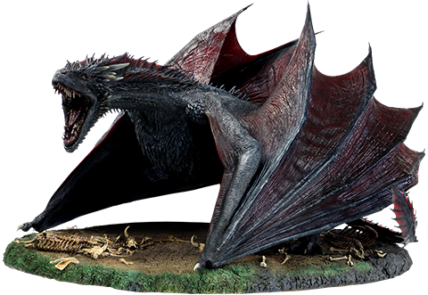Game of Thrones Drogon Sixth Scale Figure by Threezero