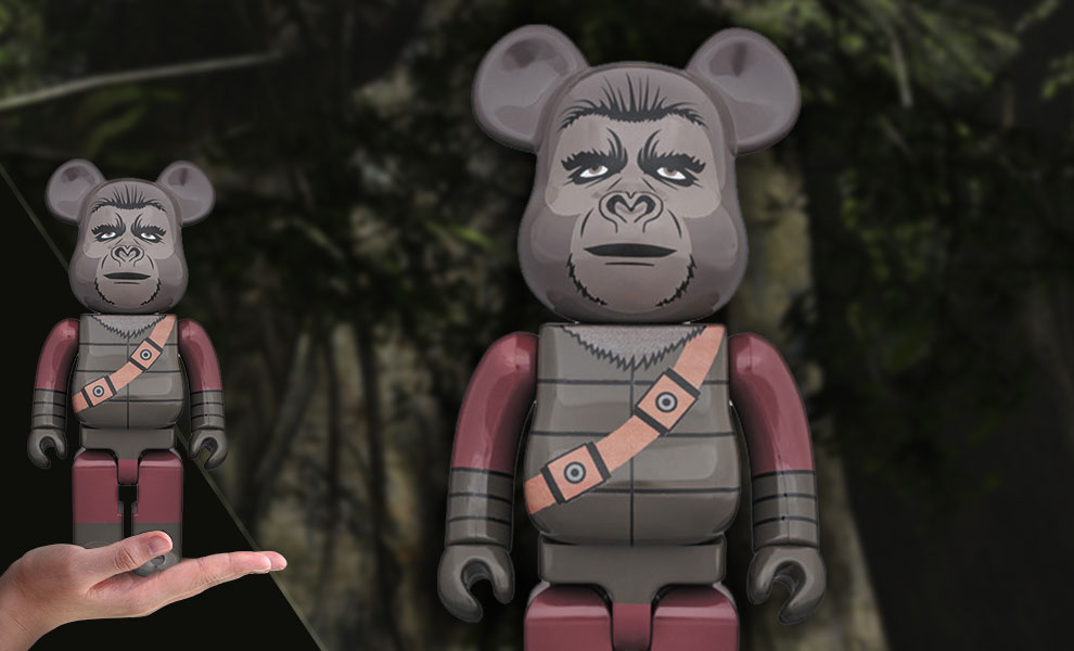 Gallery Feature Image of Bearbrick Soldier Ape 400 Figure - Click to open image gallery