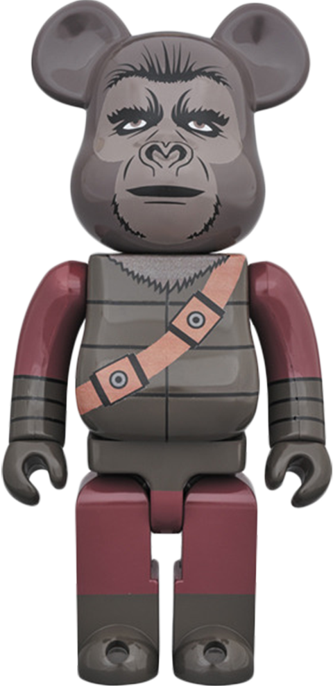 Medicom Toy Bearbrick Soldier Ape 400 Figure