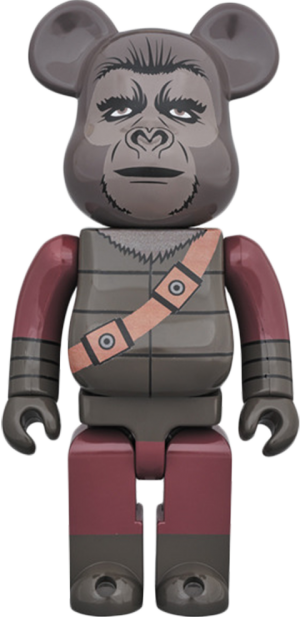 Bearbrick Soldier Ape 400 Figure
