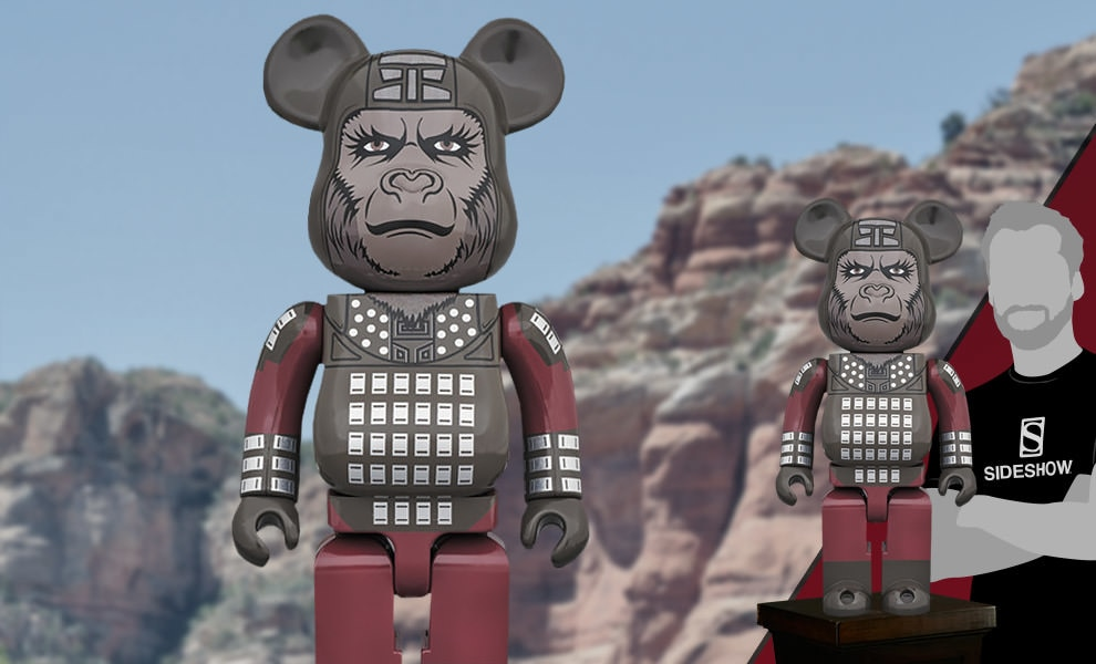 Gallery Feature Image of Bearbrick General Ursus 1000 Figure - Click to open image gallery