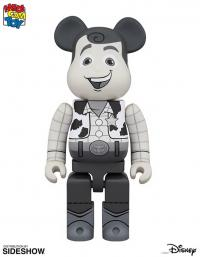 Gallery Image of Bearbrick Woody Black and White 400 Figure
