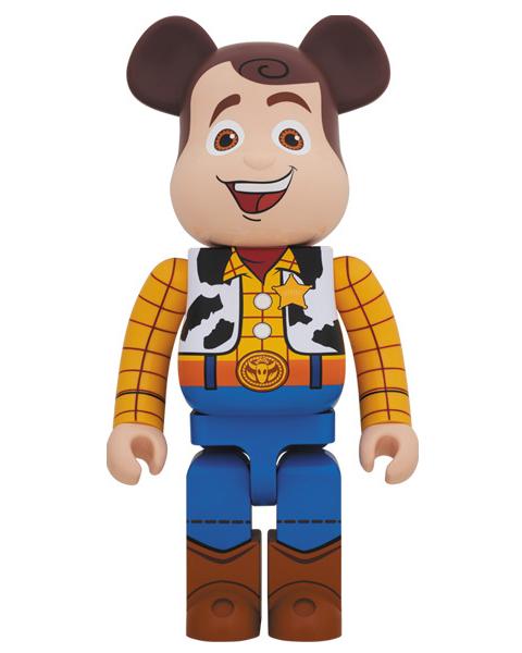 Medicom Toy Bearbrick Woody 1000 Figure