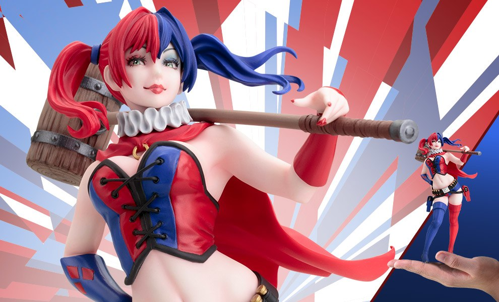 Gallery Feature Image of Harley Quinn New 52 Statue - Click to open image gallery