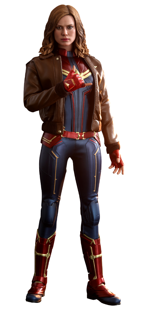 Hot Toys Captain Marvel Deluxe Version Sixth Scale Figure