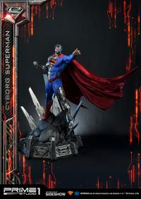 Gallery Image of Cyborg Superman Statue