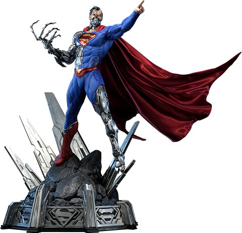 Prime 1 Studio Cyborg Superman Statue