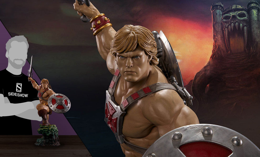 Gallery Feature Image of He-Man Statue - Click to open image gallery