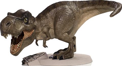 Iron Studios Tyrannosaurus Rex Mini Co Collectible Figure