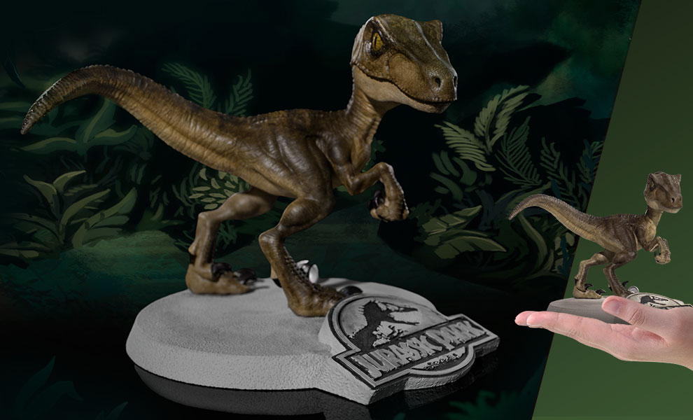 Gallery Feature Image of Velociraptor Mini Co Collectible Figure - Click to open image gallery