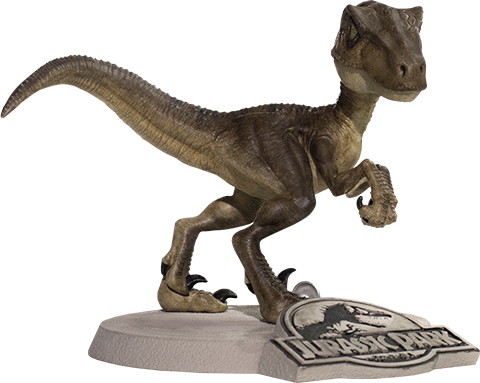 Iron Studios Velociraptor Mini Co Collectible Figure