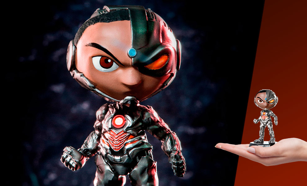 Gallery Feature Image of Cyborg Mini Co Collectible Figure - Click to open image gallery