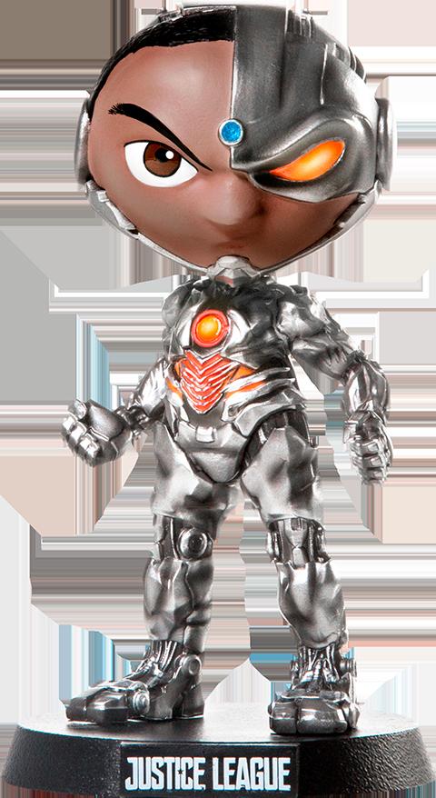 Iron Studios Cyborg Mini Co Collectible Figure