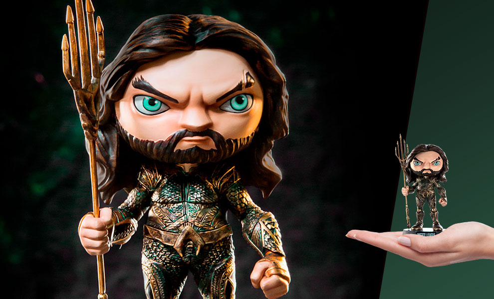 Gallery Feature Image of Aquaman Mini Co Collectible Figure - Click to open image gallery