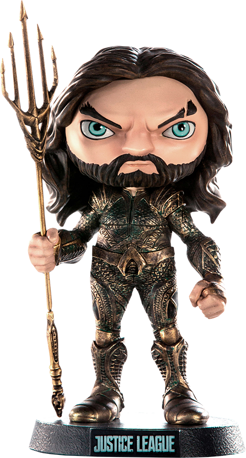 Iron Studios Aquaman Mini Co Collectible Figure