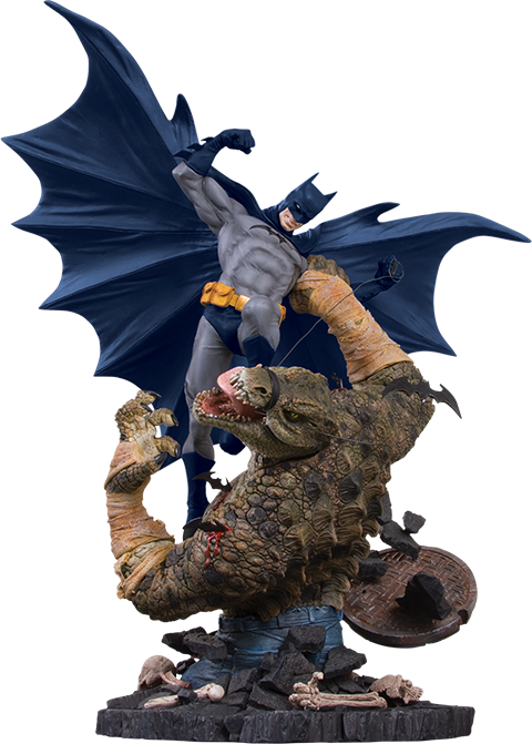 DC Collectibles Batman VS Killer Croc Statue