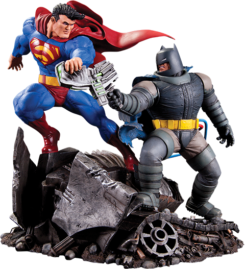DC Direct Batman VS Superman Statue