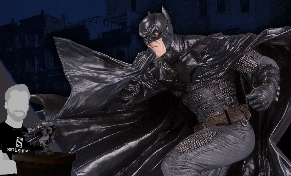 Gallery Feature Image of Black Label Batman Statue - Click to open image gallery