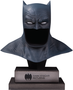 The Dark Knight Returns Batman Cowl Statue