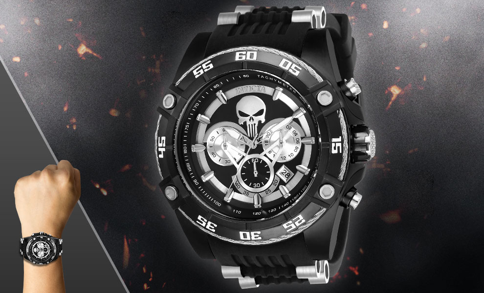 Gallery Feature Image of The Punisher Watch - Model 26859 Jewelry - Click to open image gallery