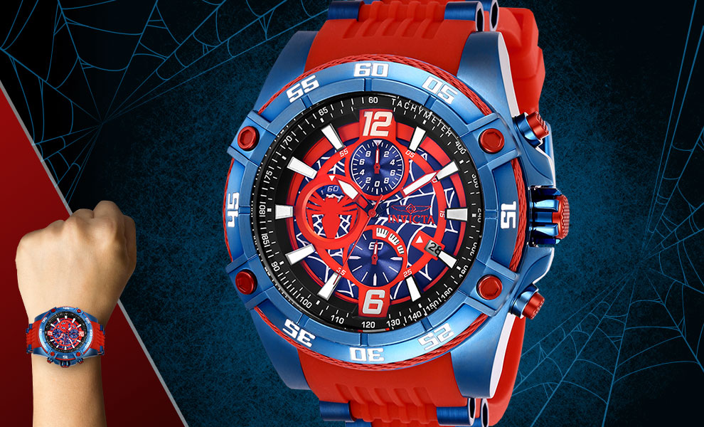Gallery Feature Image of Spider-Man Watch - Model 26768 Jewelry - Click to open image gallery