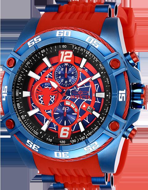 Invicta Spider-Man Watch - Model 26768 Jewelry