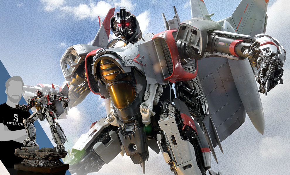 Gallery Feature Image of Blitzwing Statue - Click to open image gallery