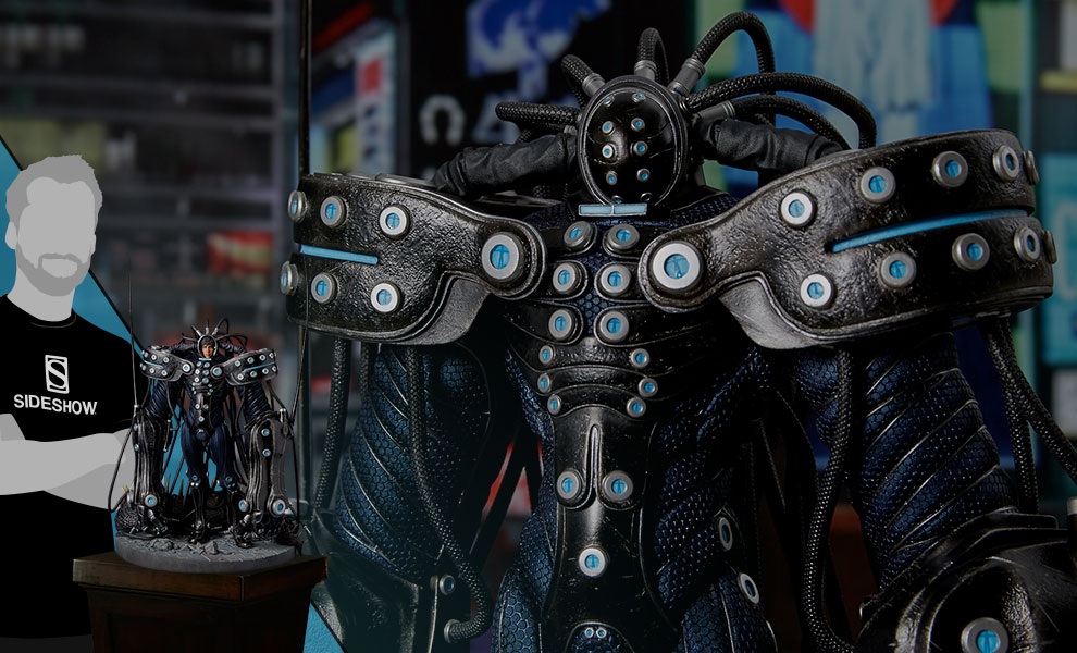 Gallery Feature Image of Hard Suit Hachiro Oka Statue - Click to open image gallery