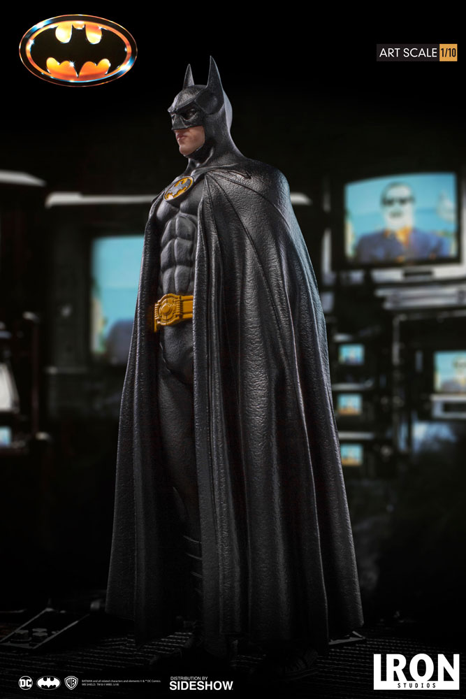 Iron Studios Batman DC Comic Version 1989 1:10 BDS Art Statue Figure New Stock