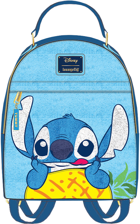 Loungefly Stitch Pineapple Mini Backpack Apparel
