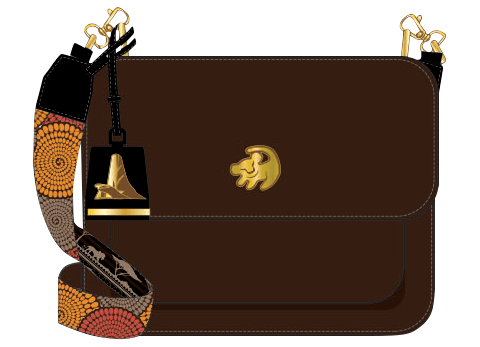 Loungefly The Lion King Crossbody Bag Apparel