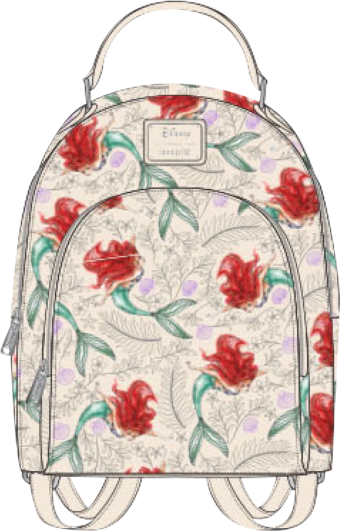 Loungefly Ariel Mini Backpack Apparel