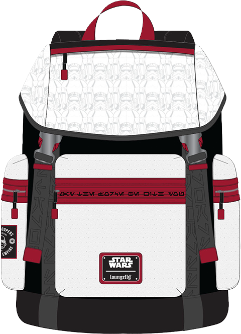 Loungefly Star Wars Stormtrooper Backpack Apparel
