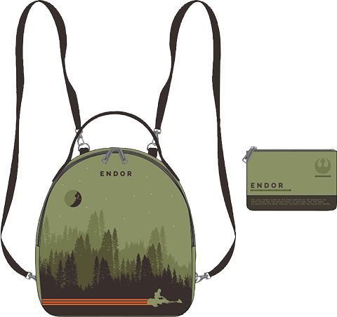Loungefly Endor Mini Backpack Apparel