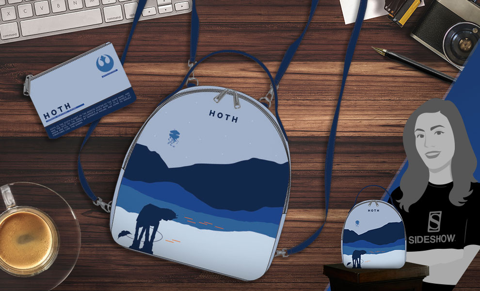 Gallery Feature Image of Hoth Mini Backpack Apparel - Click to open image gallery