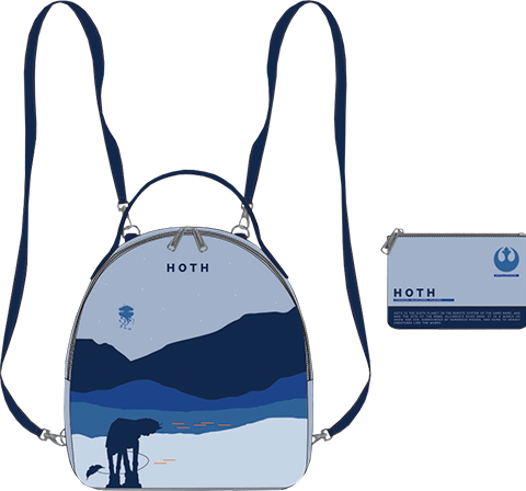 Loungefly Hoth Mini Backpack Apparel