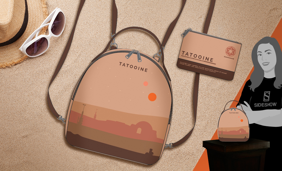 Gallery Feature Image of Tatooine Mini Backpack Apparel - Click to open image gallery
