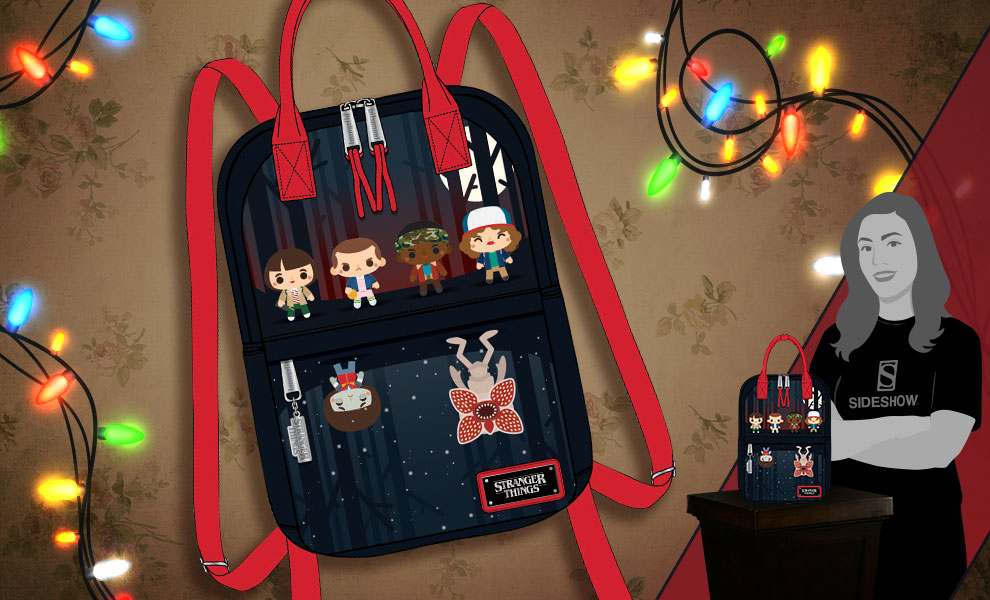Gallery Feature Image of Stranger Things Mini Backpack Apparel - Click to open image gallery