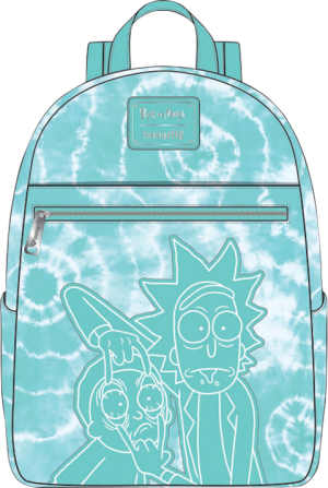 Rick and Morty Tie-Dye Mini Backpack Apparel