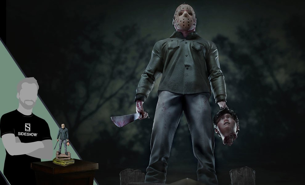 Gallery Feature Image of Jason Deluxe 1:10 Scale Statue - Click to open image gallery