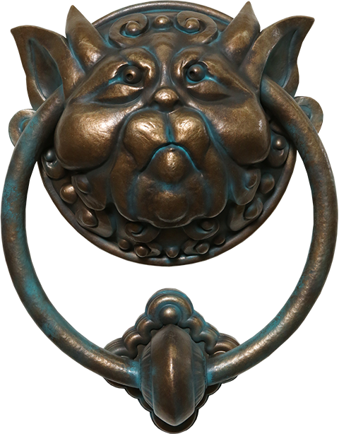 Chronicle Collectibles Labyrinth Door Knocker Left Scaled Replica