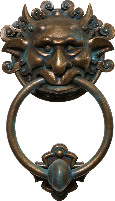 Chronicle Collectibles Labyrinth Door Knocker Right Scaled Replica