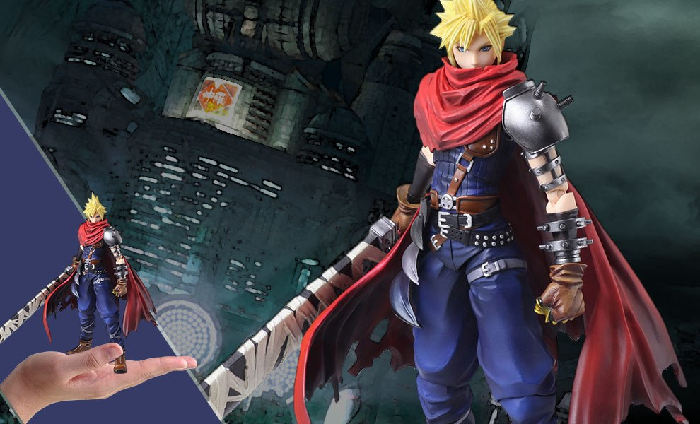 Gallery Feature Image of Cloud Strife Another Form Variant Collectible Figure - Click to open image gallery