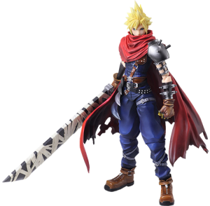 Cloud Strife Another Form Variant Collectible Figure